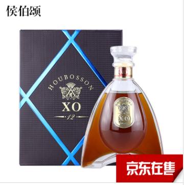 侯伯颂白兰地XO 40度洋酒700ml礼盒装